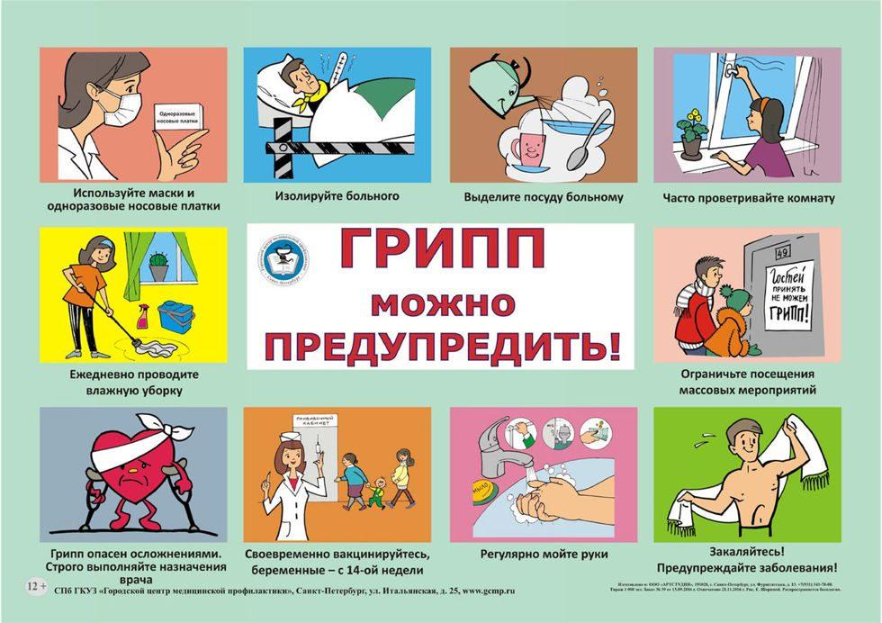 Картинка о гриппе